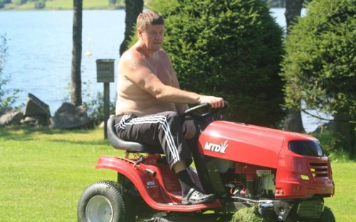 Ny traktorklipper